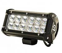 Автофара LEDна авто (12 LED) 5D-36W-SPOT (160 х 70 х 80) / Фара светодиодная автомобильная, Автофара на крышу