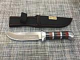 Охотничий нож с чехлом Colunbir В027 / АК-225 (22см), фото 4
