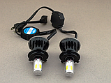 Автолампы светодиодные G5 LED H4 40W 6000K  c цоколем H4 (2 штуки), Автолампы светодиодные G5 LED H4,, фото 5