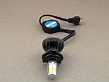 Автолампы светодиодные G5 LED H4 40W 6000K  c цоколем H4 (2 штуки), Автолампы светодиодные G5 LED H4,, фото 6