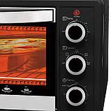 Электрическая духовка мини-печь LEXICAL LOV-2904-2 на 25л 1300W настольная, Электрическая духовка,, фото 5