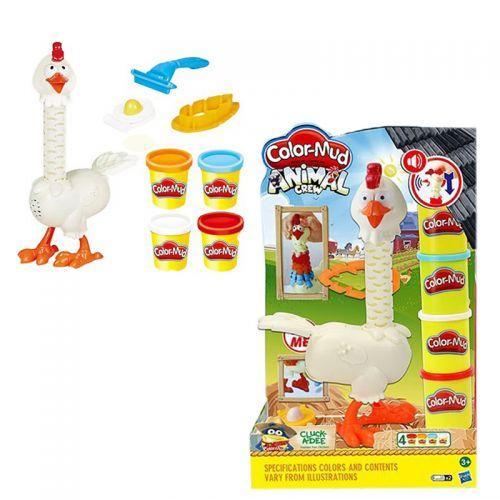 """Игровой набор с пластилином """"Курица"""", со звуковыми эффектами 6629"""