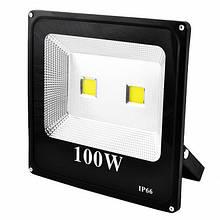 Прожектор SLIM YT-100W 2COB, 9000Lm, IP66 (влагозащита), прожектор, лампа-прожектор, светодиодный прожектор