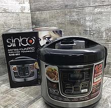 Мультиварка Sinbo SHB-801, 1500 Вт, 12 программ, 6 л  книга рецептов, Пароварка Sinbo SHB-801, Мультиварка,