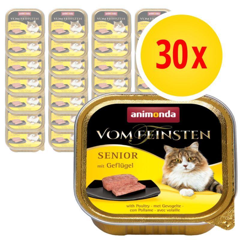 Консерви для літніх котів Animonda vom Feinsten Senior 30x100 г (Різні смаки)