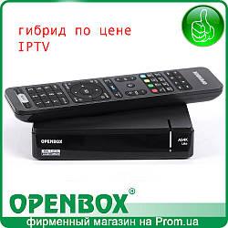 Спутниковый Android UHD ресивер или IPTV медиаплеер Openbox AS4K Lite