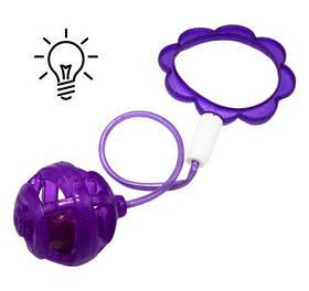 Скакалка на ногу, фиолетовый SA1001