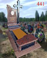Пам'ятник з фігурним хрестом, фото 1
