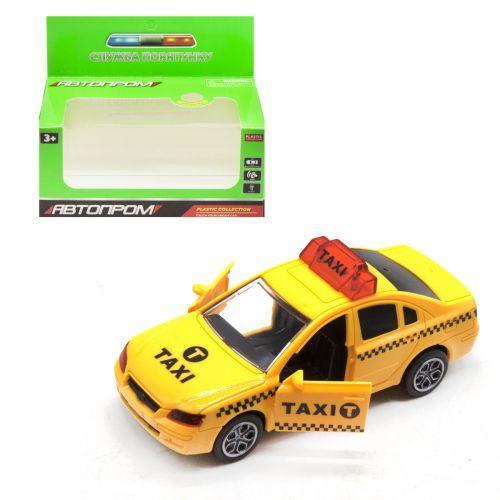 """Машинка """"Такси"""" из серии """"Автопром"""" 7964"""