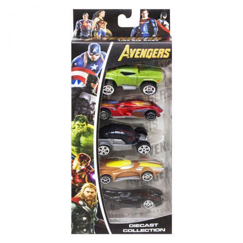 """Набор машинок """"Avengers: Endgame"""" вид 3 307-5"""