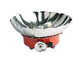 Газовая печь примус Kovar K-203 туристическая с защитой от ветра, фото 4
