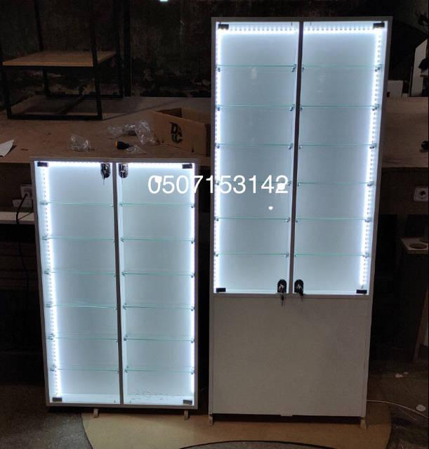 Высокая витрина для домашней коллекции Модель V1367