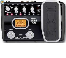 Процессор для электрогитары Zoom G2.1Nu  96кГц педаль