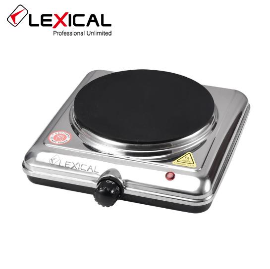 Электроплита LEXICAL LHP-2702 одноконфорочная инфракрасная, керамика 1500 Вт, Электроплита LEXICAL,