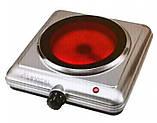 Электроплита LEXICAL LHP-2702 одноконфорочная инфракрасная, керамика 1500 Вт, Электроплита LEXICAL,, фото 7