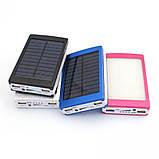 Power Bank 30000 mAh на солнечных батареях + Solar + Led панели, фото 9
