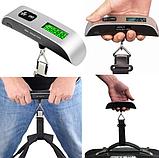 Дорожные багажные весы Digital Travel до  50 кг, Новинки, фото 2