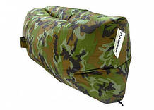 Надувной матрас Ламзак AIR SOFA Army водонепроницаемый, ламзак-лежак, Надувной портативный диван, матрас