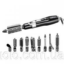 Стайлер, фен для волос 10 в 1 Gemei GM-4833