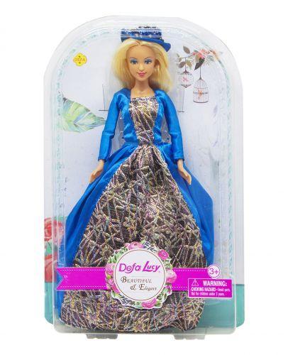 """Кукла """"Defa Lucy. Графиня"""" в синем 8407"""