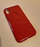 Чехол Gliter для Iphone Х / XS (Red), фото 1