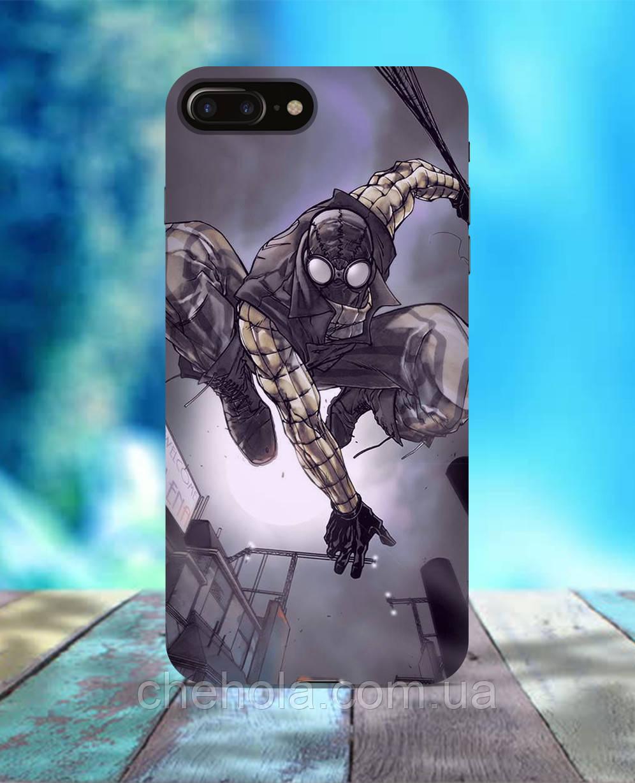 Чехол для iPhone 7 8 7 Plus 8 Plus Человек паук Нуар