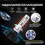Светодиодные LED лампы для фар автомобиля X3-H4, фото 8