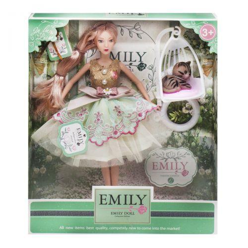 "Кукла ""Emily Fashion Classics"" с питомцем QJ088C"