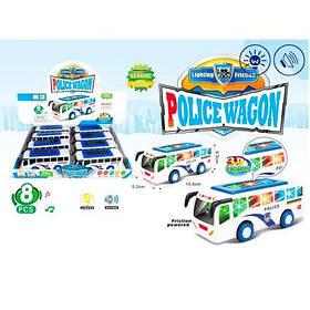 """Инерционная машинка """"Полицейский автобус"""" 7704"""