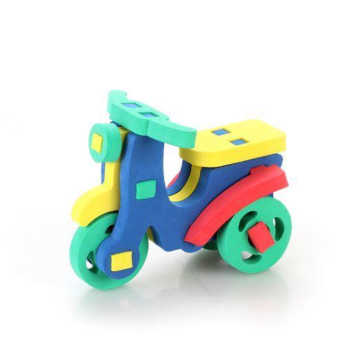 "Мягкий 3D конструктор ""Скутер"" 360"