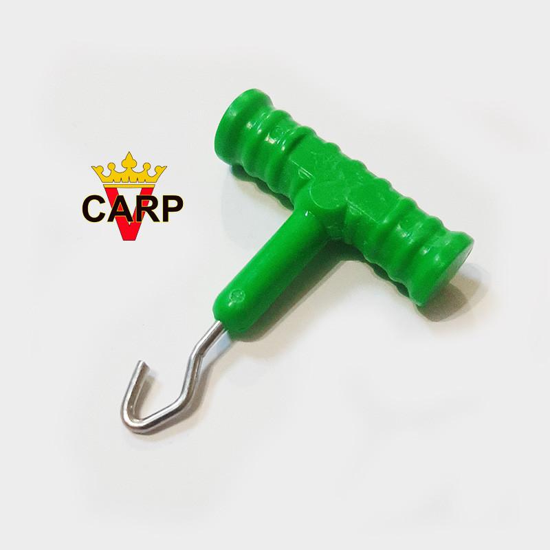Инструмент для затягивания узлов Rig Pully (зеленый)