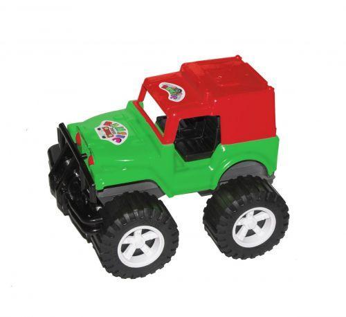 Джип Хаммер (красно-зелёный) 002