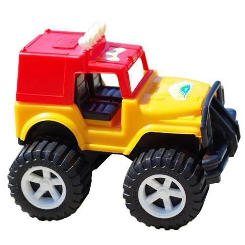 Джип Хаммер (желто-красный) 002