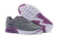 Кроссовки женские Nike Air Max 90 HyperLite  (найк аир макс) серые
