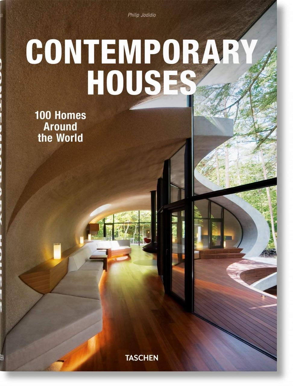 Коммерческая архитектура. Contemporary Houses. 100 Homes Around the World. Philip Jodidio