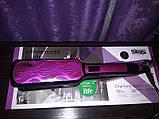 Утюжок выпрямитель для волос с инфакрасным излучением Enzo 10075, фото 3