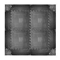 Защитный коврик inSPORTline Rubber пазл 1,2см