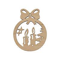 Изготовление елочных игрушек и новогоднего декора из дерева на заказ, фото 1