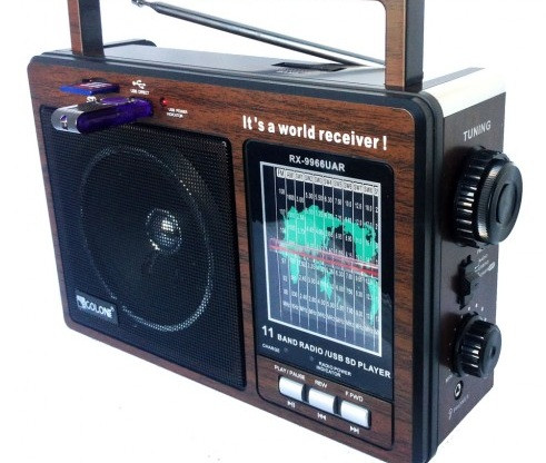 Аккумуляторный Радиоприемник GOLON RX-9966 UAR с USB mp3, AM, SW, Аккумуляторный Радиоприемник GOLON RX-9966