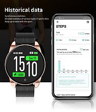 Наручные смарт часы Smart Watch M12 c  IPS экраном, фитнес-браслет