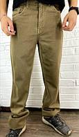 Джинсы мужские хаки Hо Bоо коричневые 30