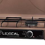 Газовая плита  LEXICAL LGS-2812-5 настольная на 2 конфорки, Газовая плита LEXICAL, Газовая плита, Газовый, фото 3