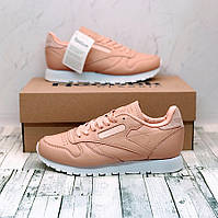 Reebok Classic Leather  Pink/White