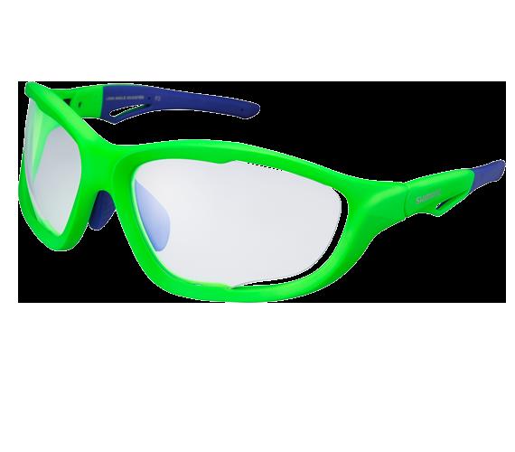Окуляри SHIMANO S60-X PH, зелені глянцеві Neon