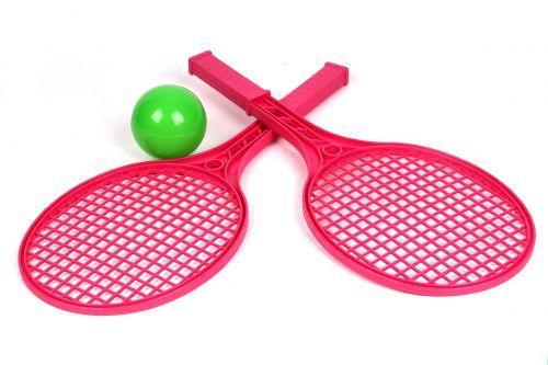 Детский набор для игры в теннис ТехноК (розовый) 0373