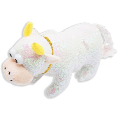 """Плюшевая игрушка """"Бычок"""", белый 005467"""