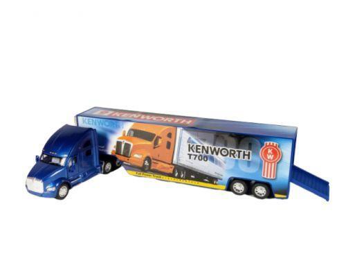 """Машинка KINSMART """"Kenworth T170"""" (синяя) KT1302W"""