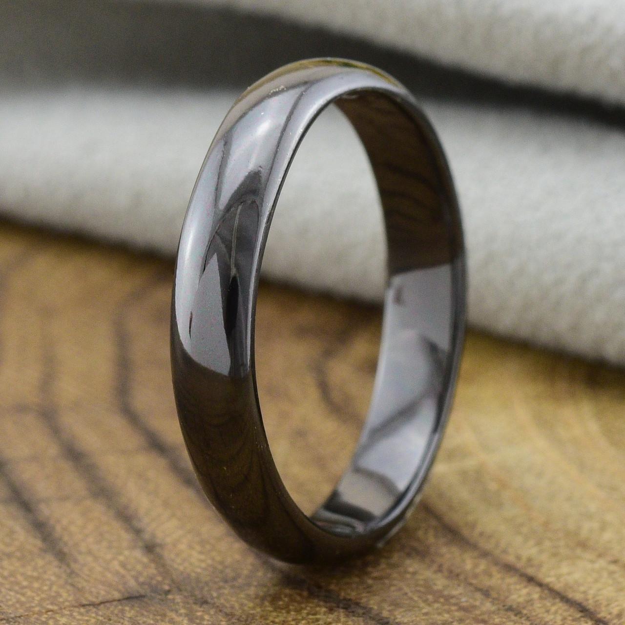 Кольцо Xuping  29141 размер 23 ширина 4 мм вес 3.6 г черная керамика