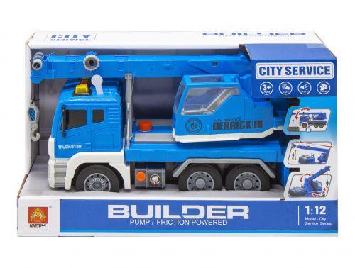 """Кран с воздушной помпой """"City Service"""", синий WY812А/WY812В/WY812 С"""
