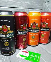 Пиво світле Пілснер Фельдшлесхен Pilsner Feldschloschen 4.9 % 500 мл